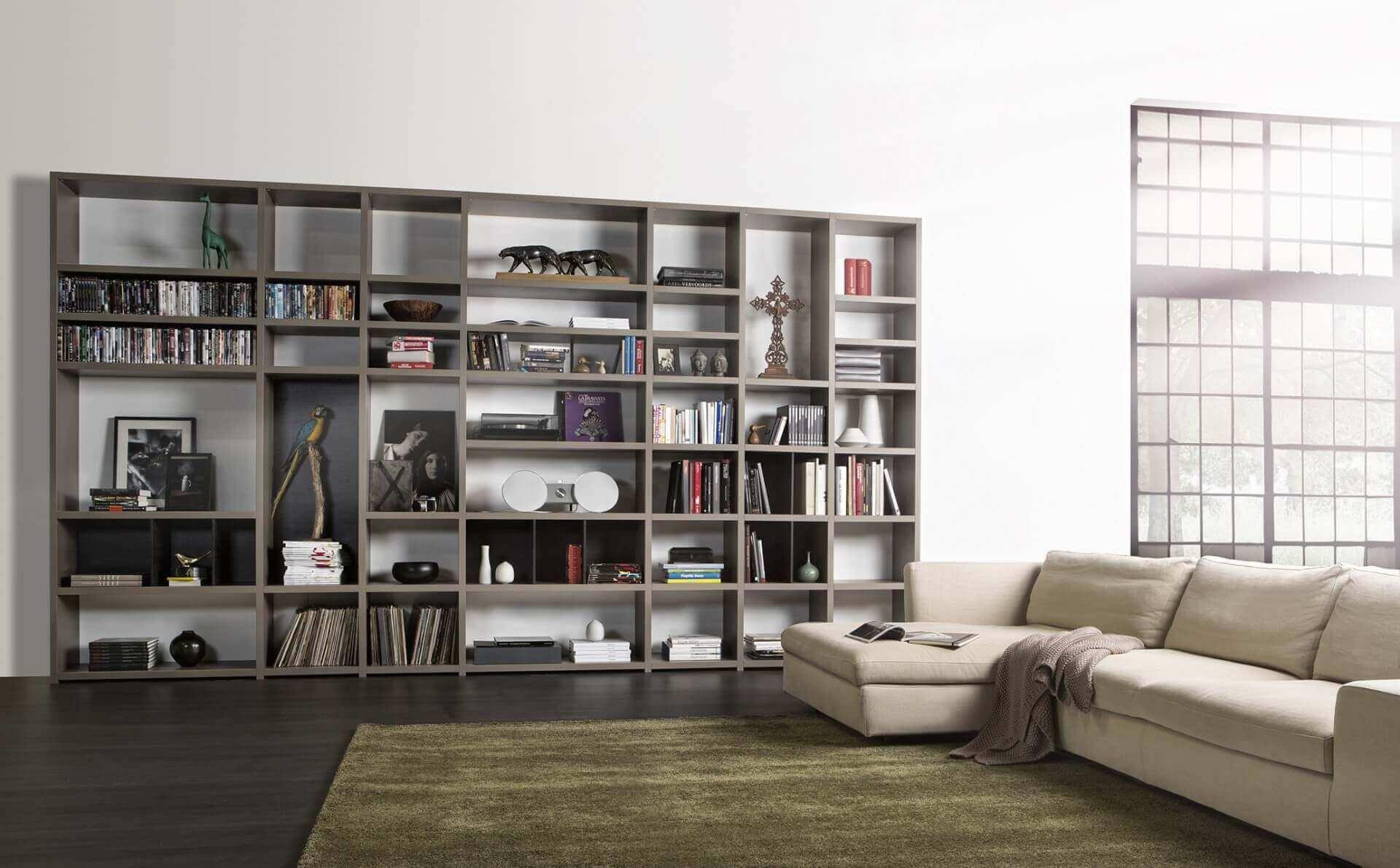 boekenkast wand